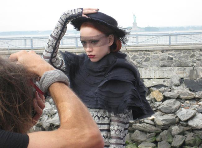Chanel Photo Shoot aboard the Waterfront Museum