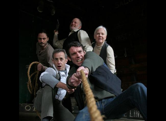 MOBY DICK REHEARSED by Orsen Wells performed by Brave New World Repertory Theatre