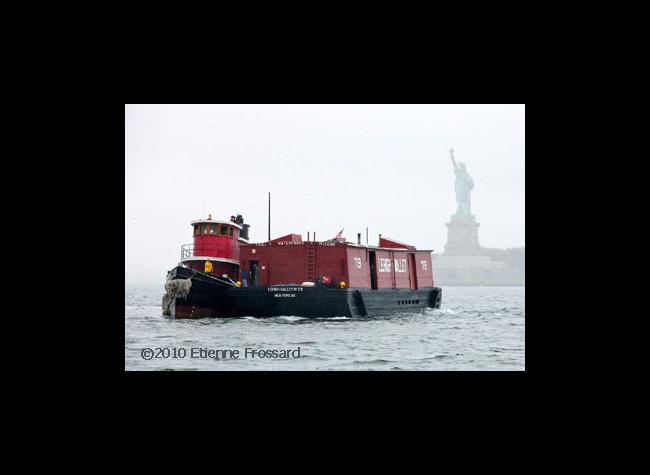 Tug & Barge travel to Brooklyn Bridge Park